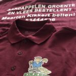 bedrijfskleding bedrukken kikkert westerland kleding bedrukken ontwerp logo bedrukken