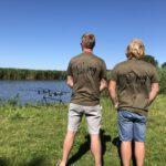 viskleding bedrukken vissen familie logo vissen bedrukken kleding de jong